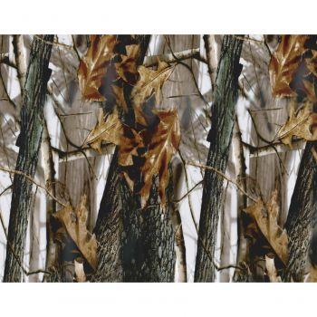 Autocollants camouflage pour panneau coffre arrière noir