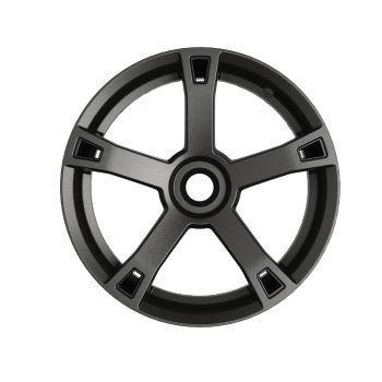 Accents pour roues - Noir intense