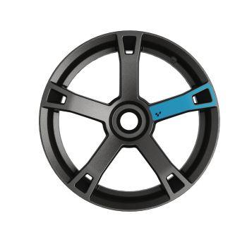 Décalques pour roues - Bleu brume