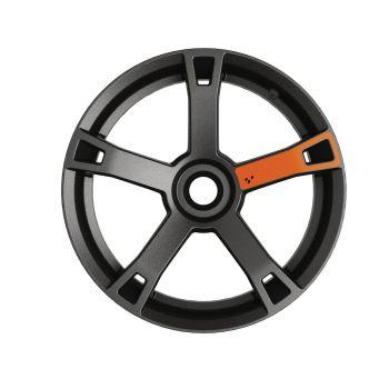 Décalques pour roues - Orange brasier