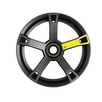 Décalques pour roues - Jaune électrique