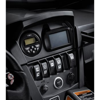 Adaptateur pour radio et système de positionnement terrestre (GPS)
