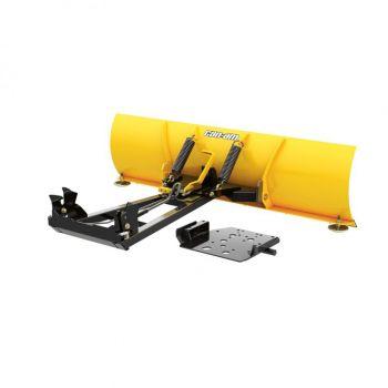 Ensemble lame à neige en acier Can-Am ProMount - 137 cm LAME (jaune)