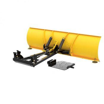 Ensemble lame à neige en acier Can-Am ProMount - 152 cm LAME (jaune)