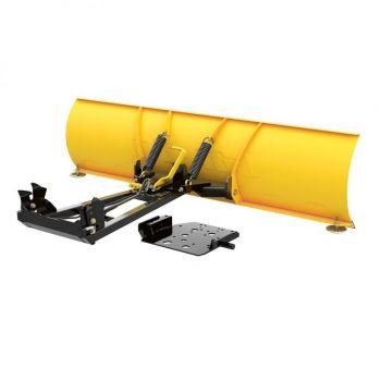 Ensemble lame à neige en acier Can-Am ProMount - 168 cm LAME (jaune)